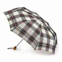 Зонт Fulton Stowaway Deluxe-2 L450 White Stewart Tartan (Стюарт тартан)