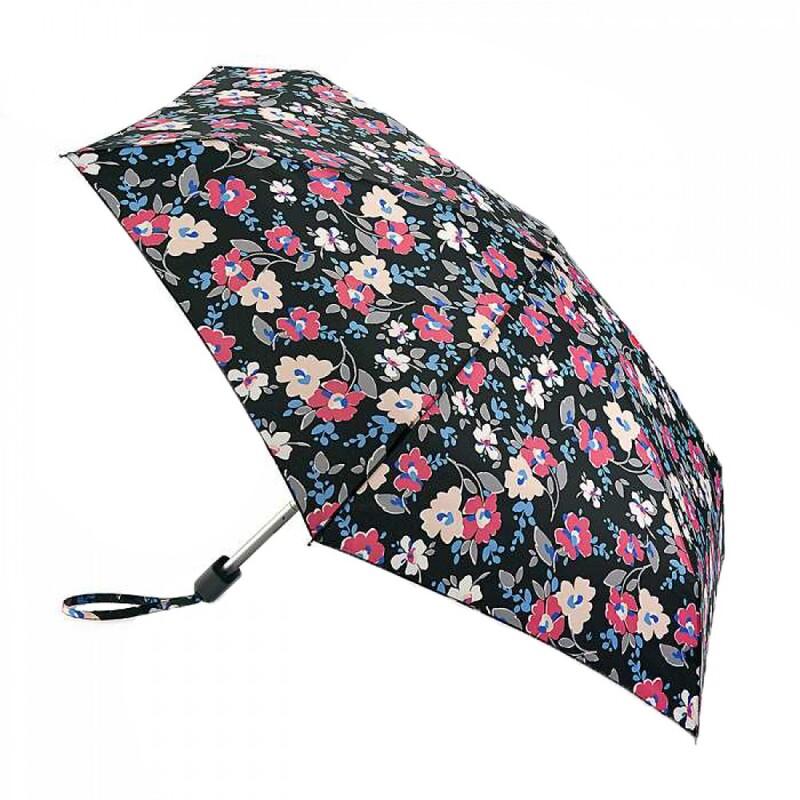 Зонт женский Fulton Tiny-2 L501 Floral Cut Out (Цветы) 13501 - фото 1