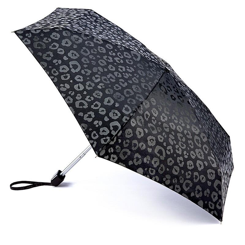 Зонт женский Fulton Tiny-2 L501 Luxury Leopard (Роскошный леопард) 13502 - фото 1