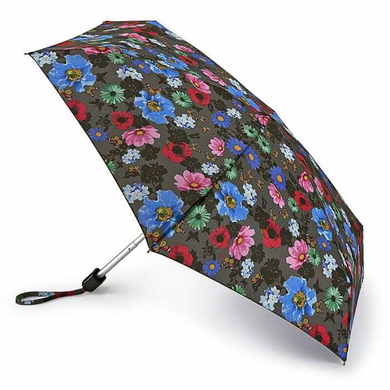 Зонт женский Fulton Tiny-2 L501 Colour Burst Floral (Цветочный бум) 13487 - фото 1