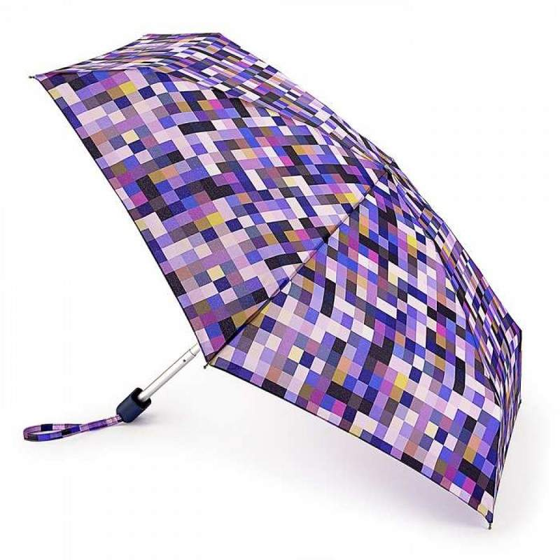 Зонт женский Fulton Fulton Tiny-2 L501 Pixel Power (Пиксели) 13490 - фото 1