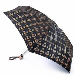 Зонт женский Fulton Tiny-2 L501 Golden Check (Золотая Клетка) id