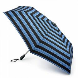 Зонт женский Fulton Open&Close Superslim-2 L711 Brush Stripe (Полосы) id