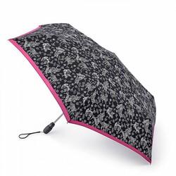 Зонт женский Fulton Open&Close Superslim-2 L711 Woodland (Листья) id