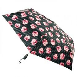 Зонт женский Fulton Open&Close Superslim-2 L711 Rosie Pin Spot (Розовые розы) id