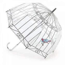 Зонт женский Lulu Guinness by Fulton L719 Birdcage-2 Birdcage (Птичка в клетке)