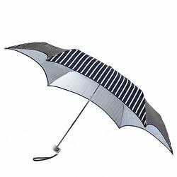 Зонт женский Fulton Parasoleil UV L752 Nautical Stripe (Полосы)