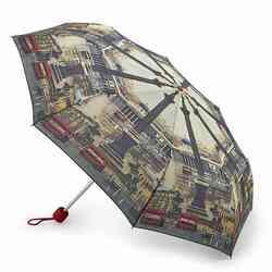 Зонт женский Fulton National Gallery Minilite-2 L849 Vintage London (Винтажный Лондон)