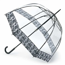 Зонт женский Fulton Birdcage-2 Luxe L866 Photo Rose (Розы