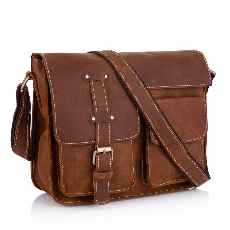 Мужская кожаная сумка Buffalo Bags 19224 - фото 1