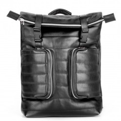 Кожаный рюкзак JIZUZ MOTTO BLACK id