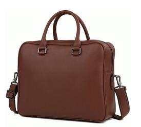 Коричневый кожаный портфель Bexhill