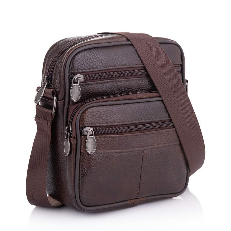 Мужская кожаная сумка Buffalo Bags 19221 - фото 1