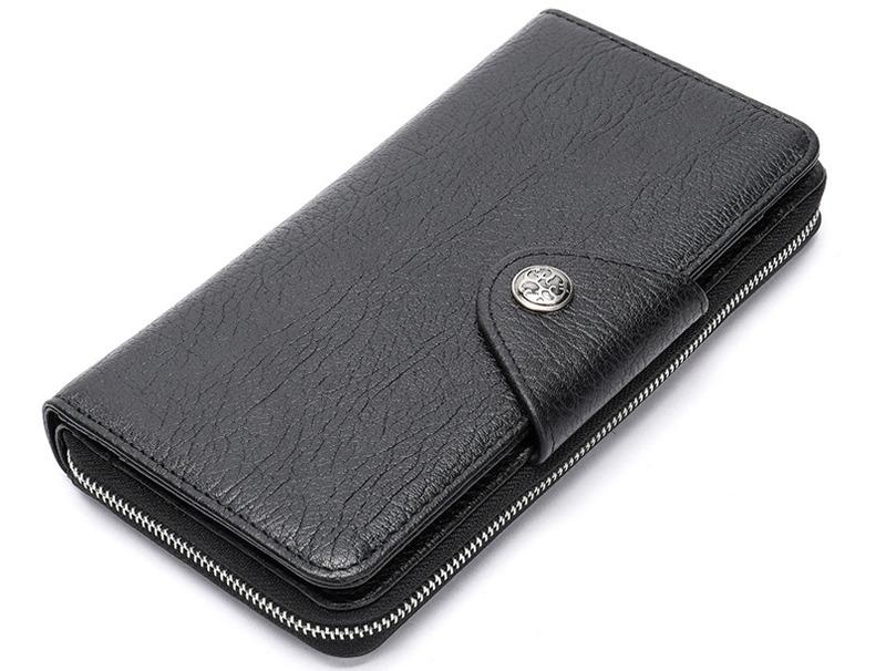 Мужской кожаный клатч Buffalo Bags 13083 - фото 1