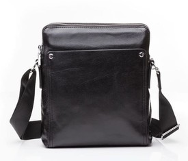 Кожаная сумка через плечо Tiding M5861-1A
