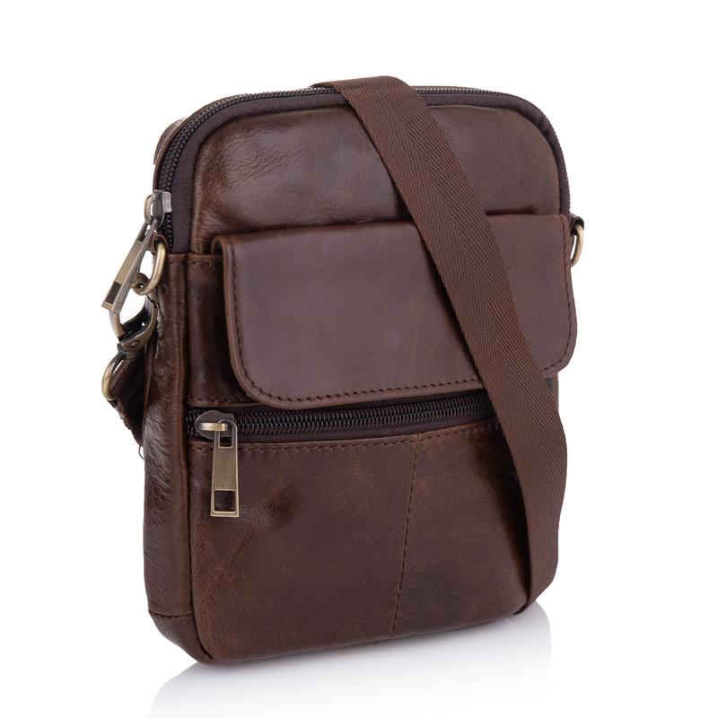 Мужская кожаная сумка Buffalo Bags 19226 - фото 1