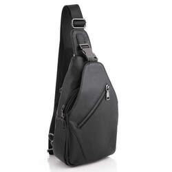 Мужской кожаный рюкзак через плечо Buffalo Bags