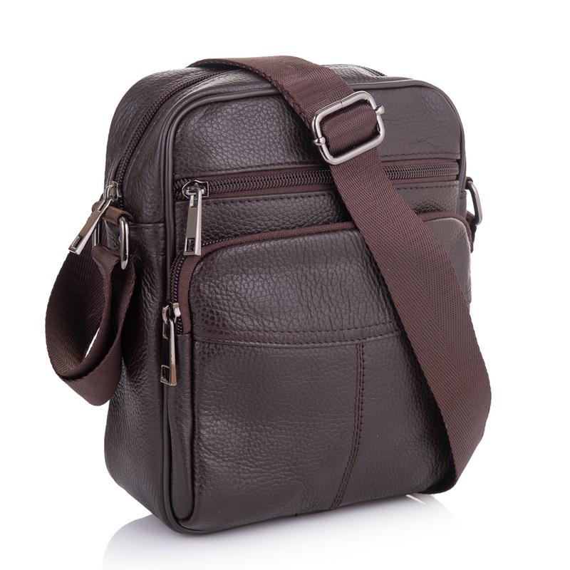 Мужская кожаная сумка Buffalo Bags 19227 - фото 1