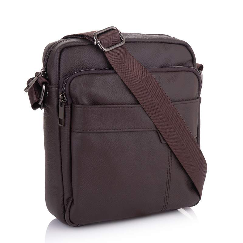 Мужская кожаная сумка Buffalo Bags 19228 - фото 1