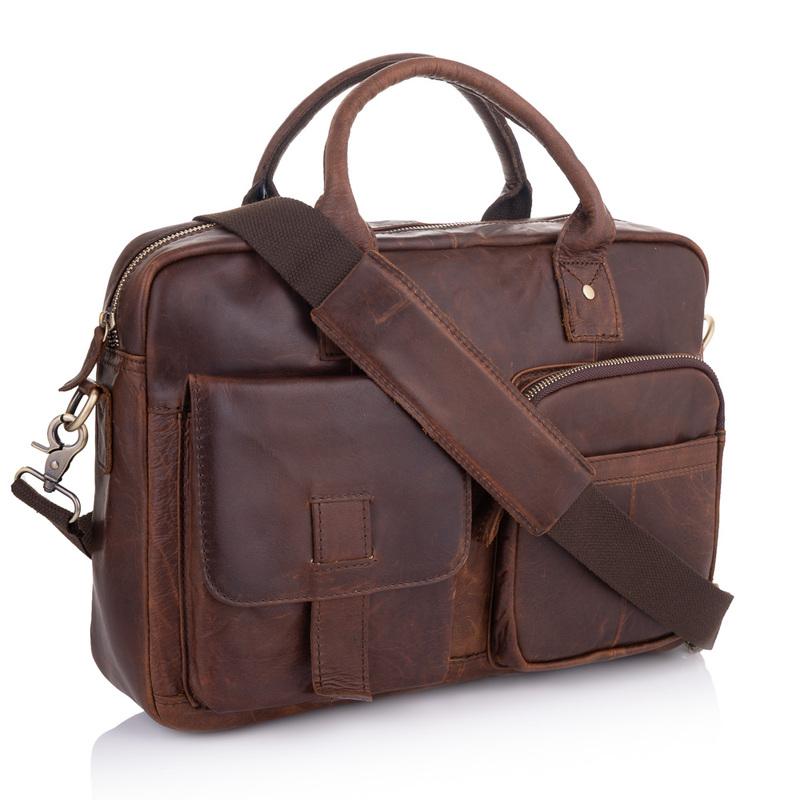 Кожаный портфель Buffalo Bags 19216 - фото 1