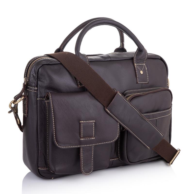 Кожаный портфель Buffalo Bags 19217 - фото 1