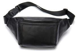Мужская поясная кожаная сумка Buffalo Bags id