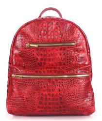 Кожаный рюкзак Poolparty Mini id