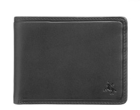 Мужской кожаный кошелек Visconti PLR72 Segesta c RFID id