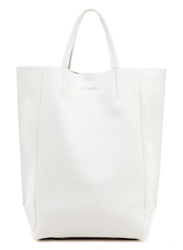 Кожаная сумка POOLPARTY BigSoho 4125 - фото 1