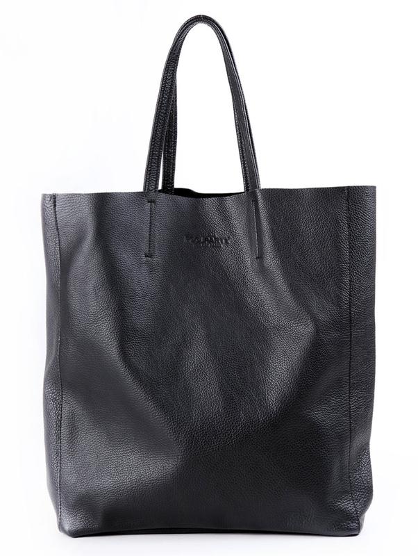 Кожаная сумка POOLPARTY City 4084 - фото 1
