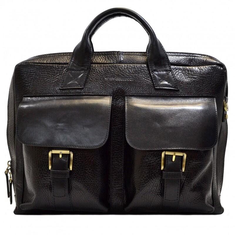 Мужской кожаный портфель Tony Bellucci (Италия) 17387 - фото 1