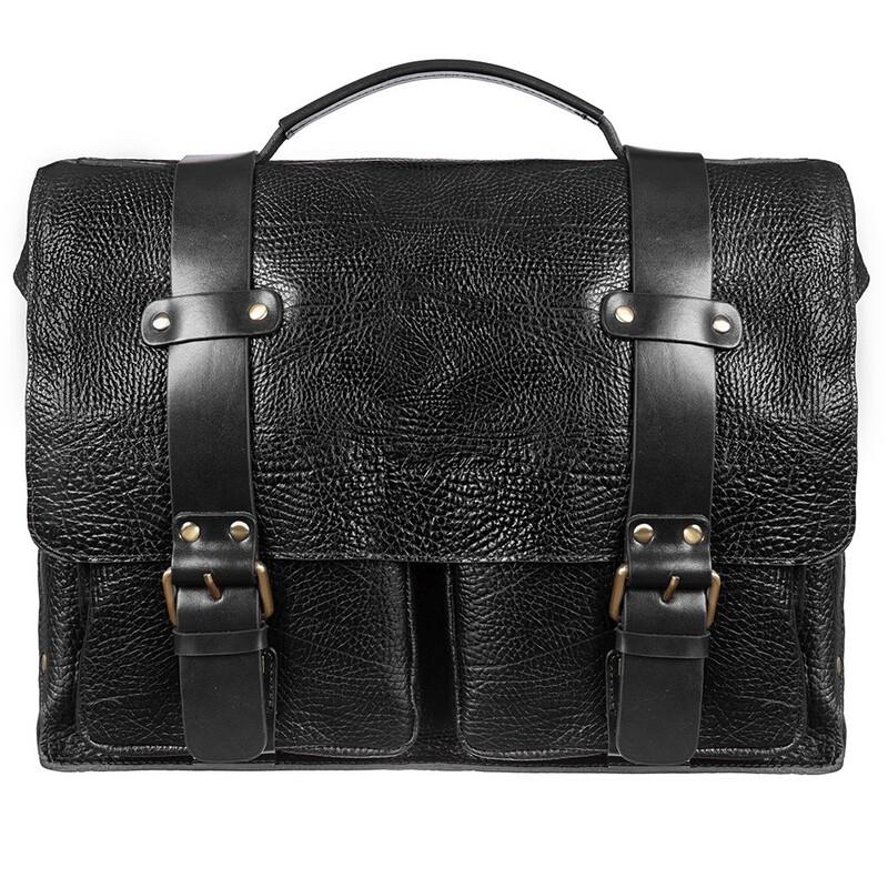 Мужской кожаный портфель Tony Bellucci (Италия) 17391 - фото 1