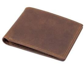 Мужской кожаный кошелек Buffalo Bags