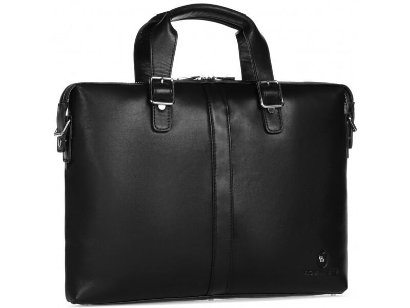 Мужская кожаная сумка RoyalBag 18007 - фото 1
