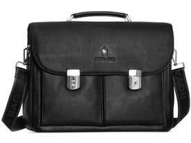 Мужской кожаный портфель RoyalBag