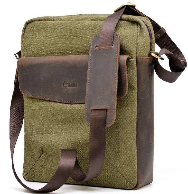 Мужская сумка через плечо TARWA 17468 - фото 1