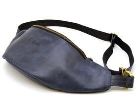 Кожаная сумка на пояс TARWA