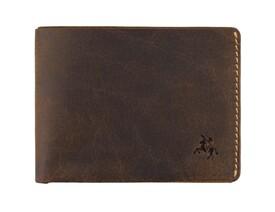 Мужской кожаный кошелек Visconti Dollar