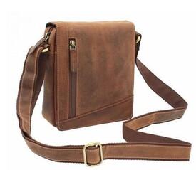 Мужская кожаная сумка Visconti Sling id