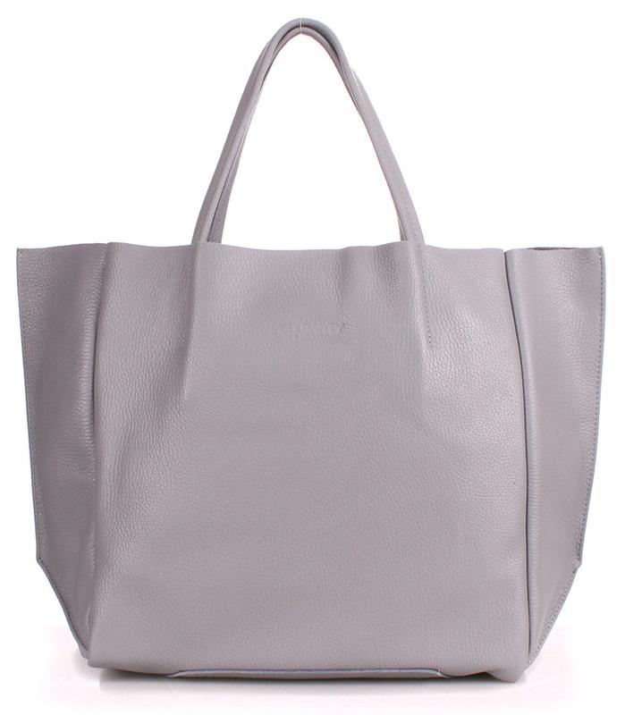 Кожаная сумка POOLPARTY Soho 4105 - фото 1
