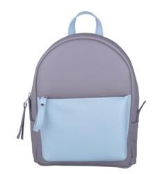 Кожаный рюкзак JIZUZ SPORT DOUBLE NEW (GREY/AQUA) id