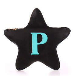 Кожаный клатч-косметичка POOLPARTY STAR id