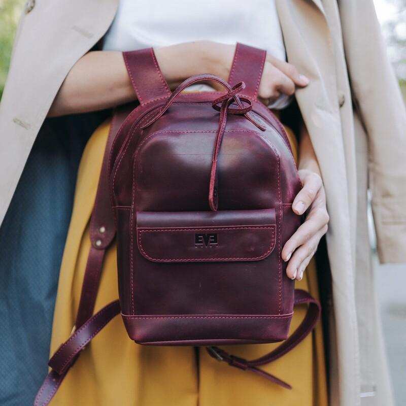 """Кожаный рюкзак Level """"Кукки"""" 13761 - фото 1"""