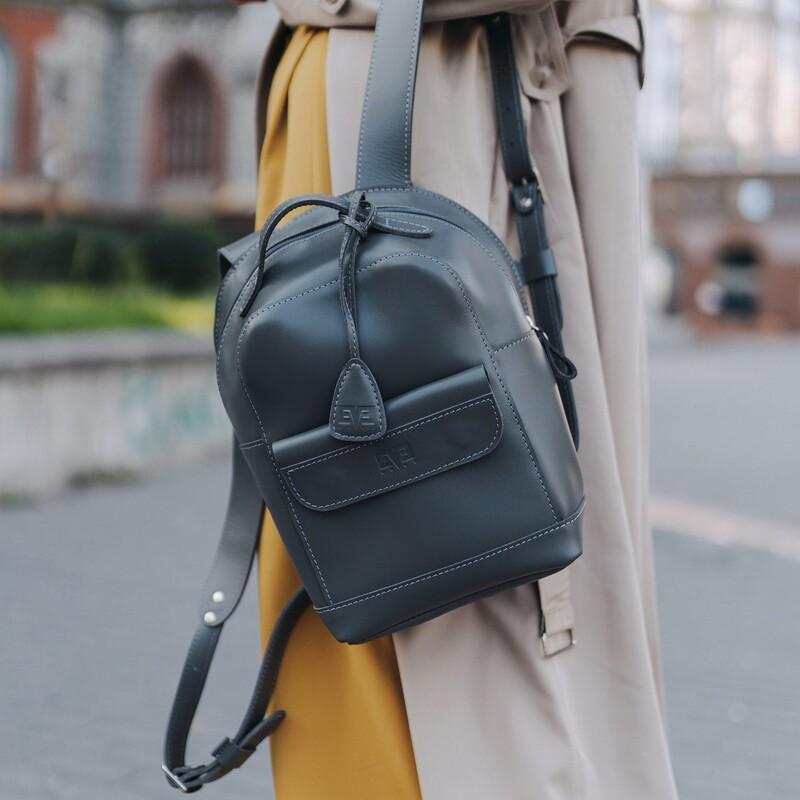 """Кожаный рюкзак Level """"Кукки"""" 13762 - фото 1"""