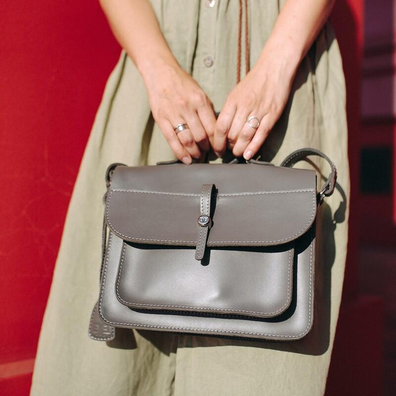 Кожаная сумка Level Фейк 13786 - фото 1