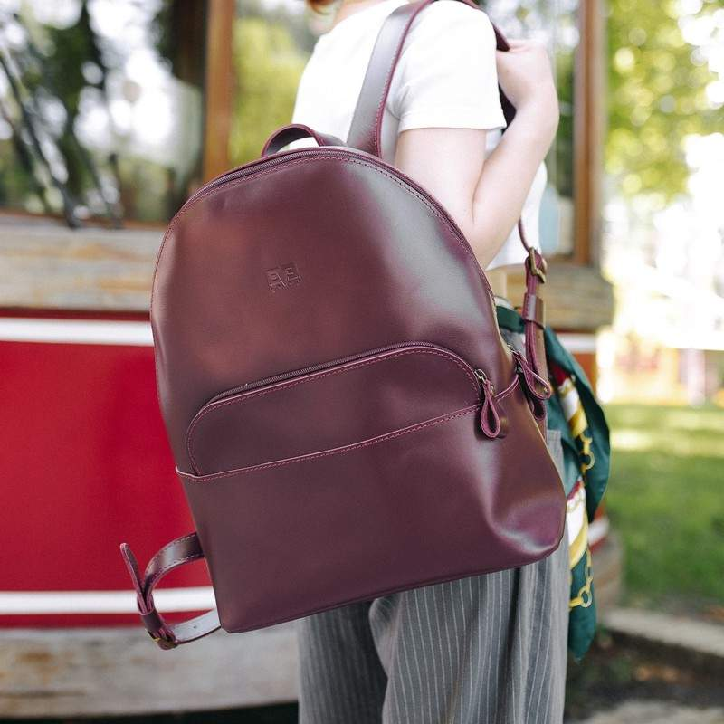 """Кожаный рюкзак Level """"Луи"""" 13742 - фото 1"""