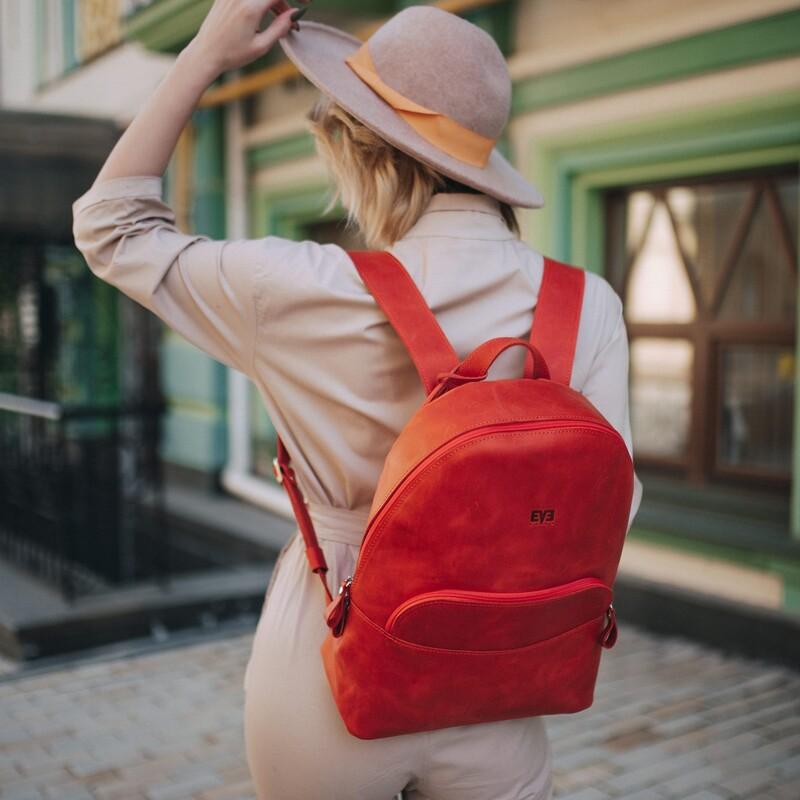 """Кожаный рюкзак Level """"Луи"""" 12966 - фото 1"""