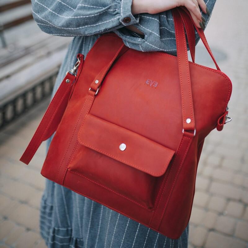 "Кожаная сумка Level ""Шопер"" 12971 - фото 1"