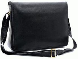 Вместительная кожаная сумка-планшет Tiding t1047