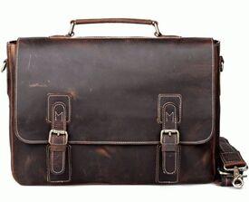 Кожаный мужской портфель Tiding